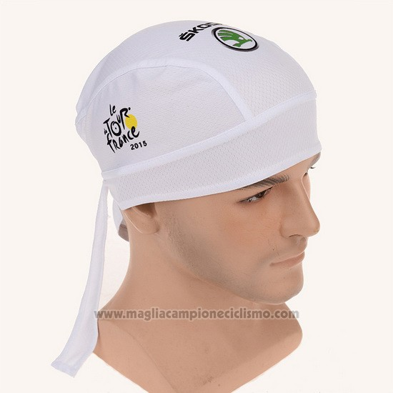 2015 Tour de France Bandana Ciclismo Bianco