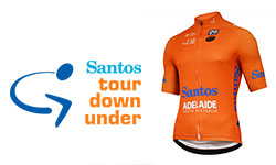 maglia Tour Down Under ciclismo