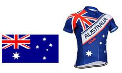 Maglia Nazionali Australia Ciclismo 2018