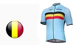 Maglia Nazionali Belgio Ciclismo 2018