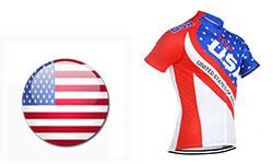 Maglia Nazionali USA Ciclismo 2018
