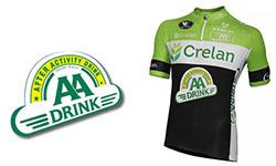 Maglia Crelan AA Ciclismo 2018