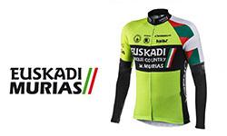 Maglia Euskadi Murias Ciclismo 2018