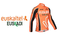 Maglia Euskaltel Euskadi Ciclismo 2018