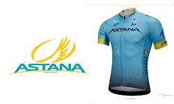 Maglia Astana Ciclismo 2018