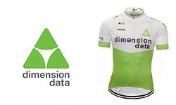 Maglia Dimension Data Ciclismo 2018