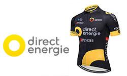 Maglia Direct Energie Ciclismo 2018