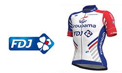 Maglia Groupama FDJ Ciclismo 2018