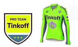 Maglia Tinkoff Ciclismo 2018