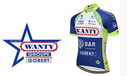 Maglia Squadra Wanty-Groupe Gobert Ciclismo 2018