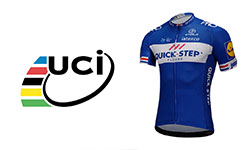 maglia UCI Quick Step Floors ciclismo