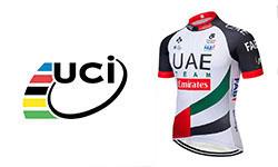 maglia UCI UAE ciclismo